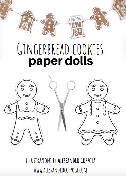 omini pan di zenzero formine gingerbread cookies