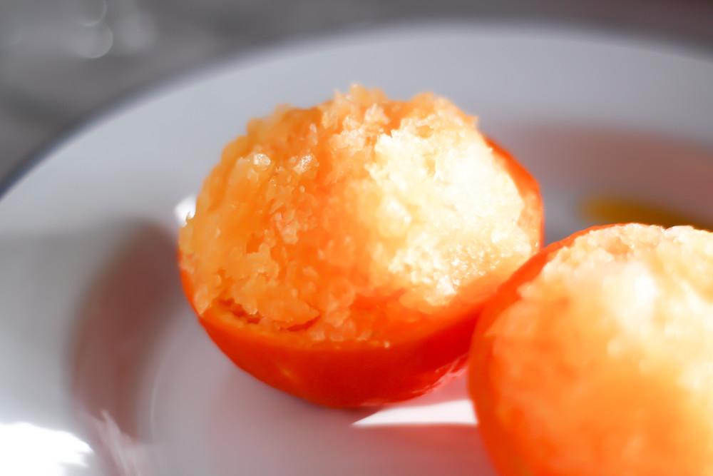sorbetto mandarino ricetta facile senza gelatiera veloce