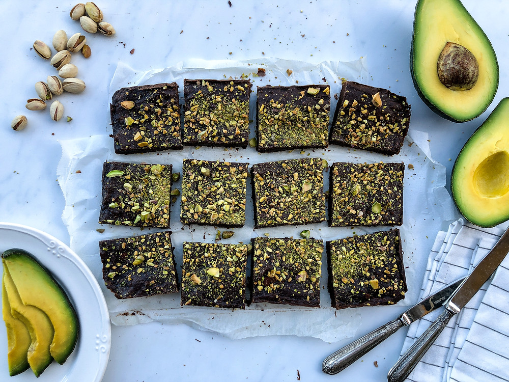 brownies ricetta veloce avocado pistacchio brunch buon brunch