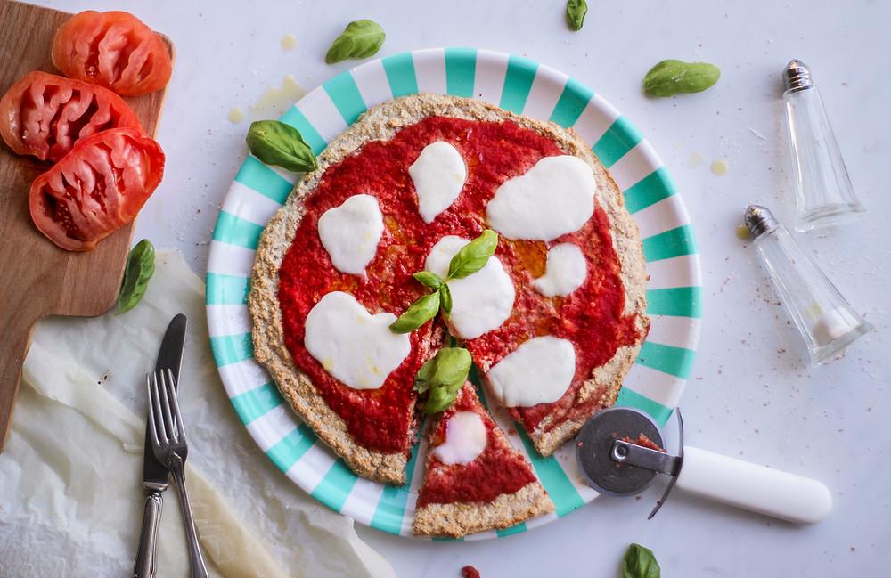 pizza fit ricetta al forno albumi