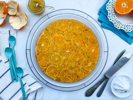 Upside down cake ai mandarini e cocco: la ricetta facile (senza burro)