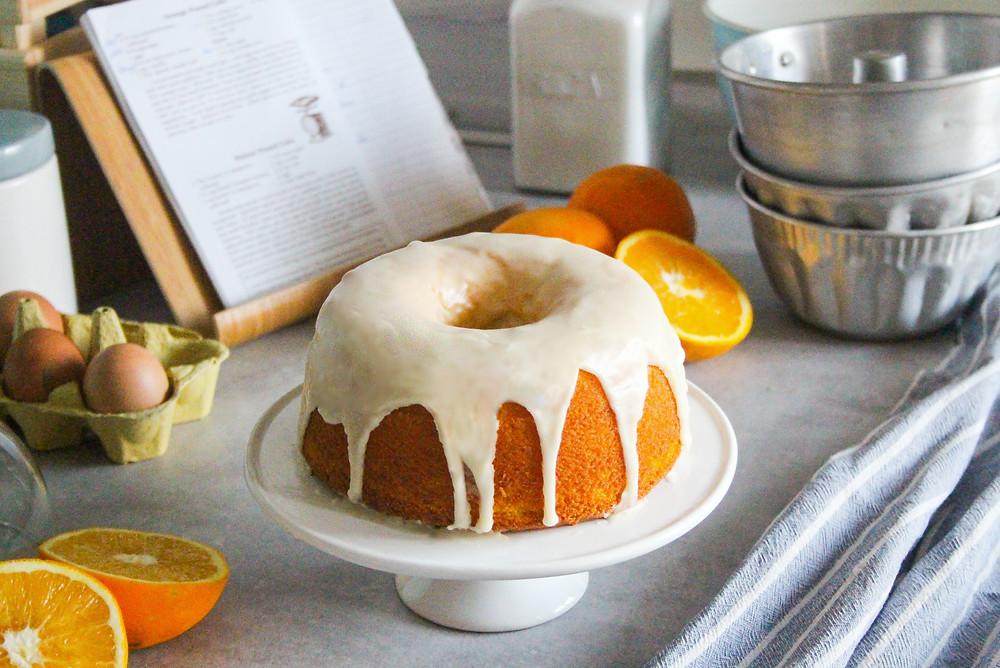 ciambella arancia pound cake ricetta originale inglese
