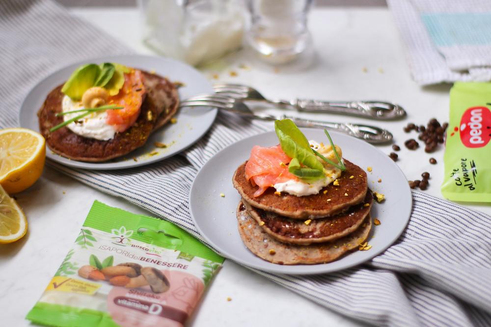 pancake proteici yogurt greco lenticchie