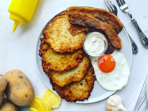 Hash brown: ricetta originale delle frittelle di patate