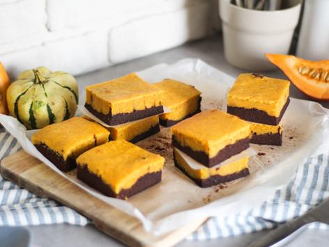 Brownies cioccolato e zucca: la ricetta perfetta