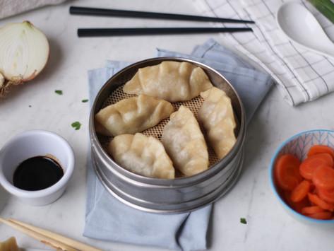 Ravioli cinesi di verdure: la ricetta facile (al vapore)