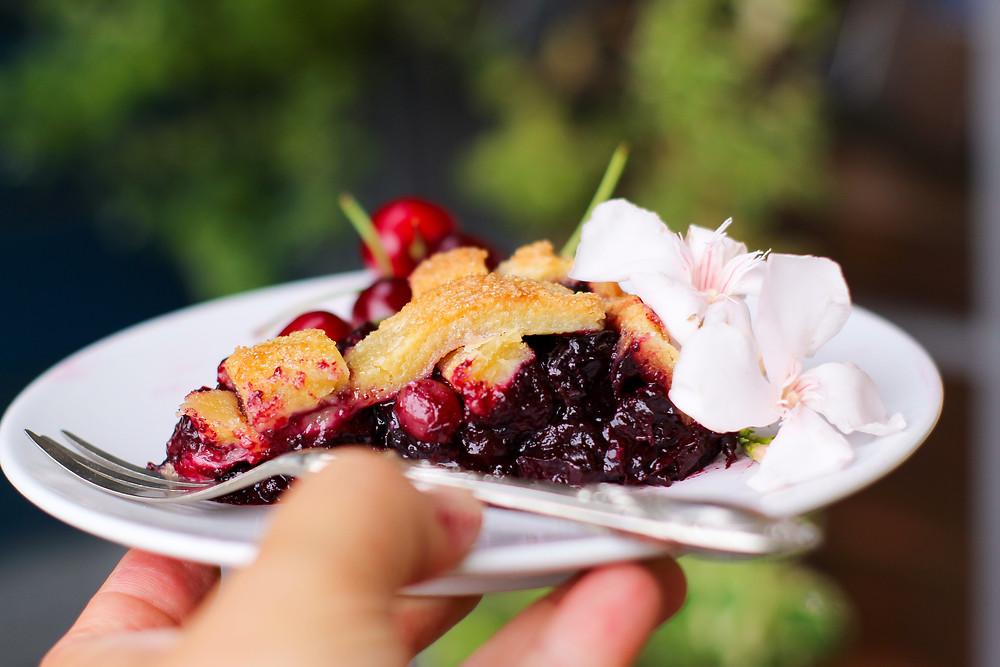 cherry pie easy recipe
