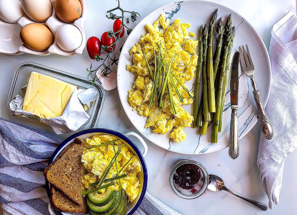 uova strapazzate ricetta scarmbled eggs buon brunch