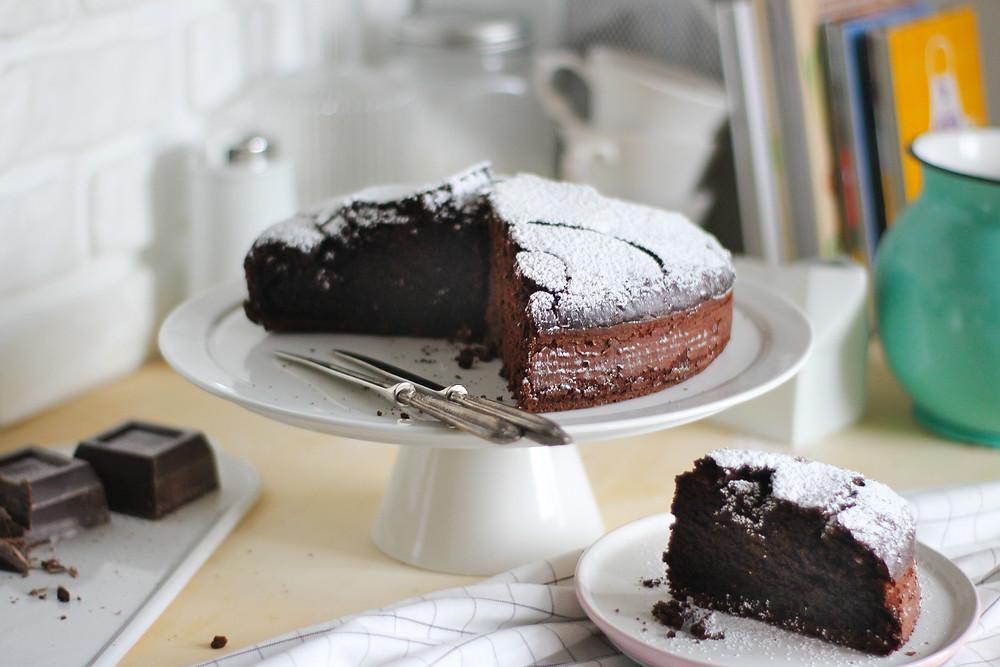torta al cioccolato morbida ricetta facile
