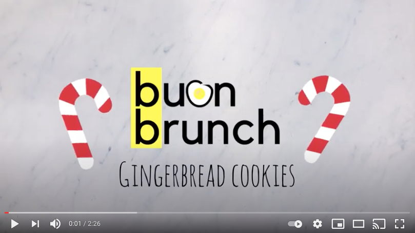 video ricetta gingerbread cookies brunch