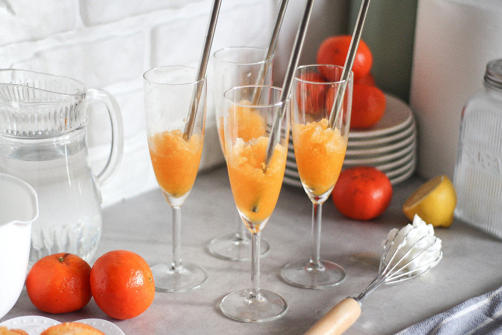 come fare sorbetto in casa al mandarino