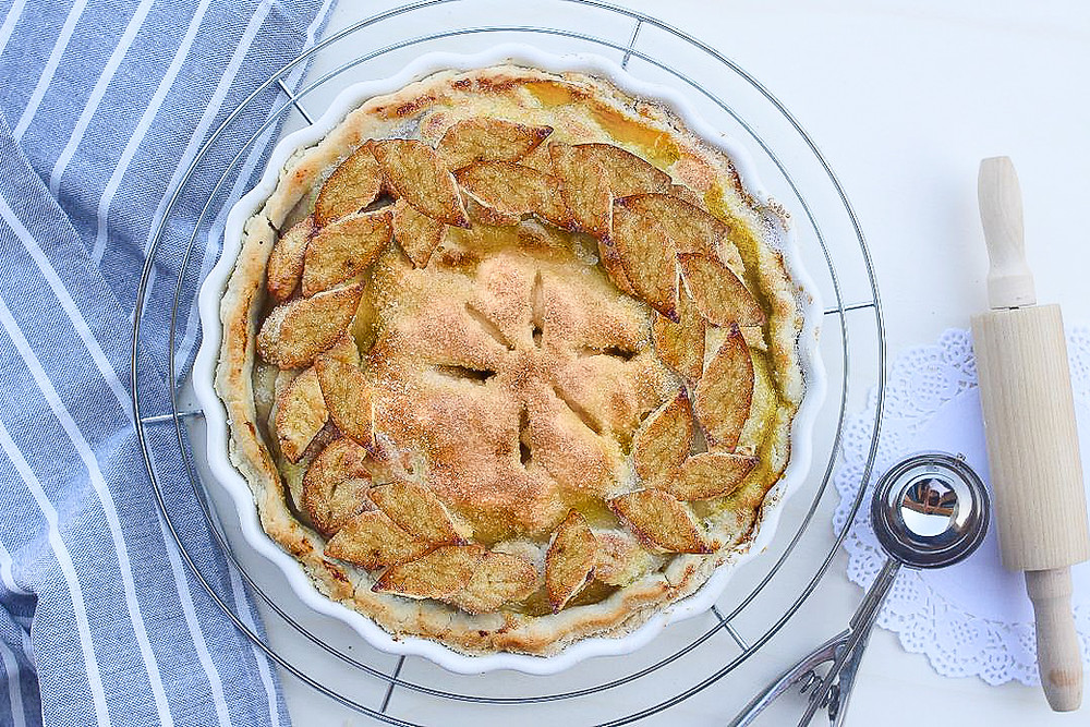 ricetta originale apple pie torta di mele americana