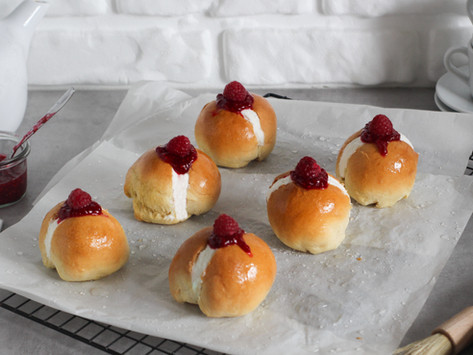 Cream Buns: la ricetta dei panini scozzesi alla panna