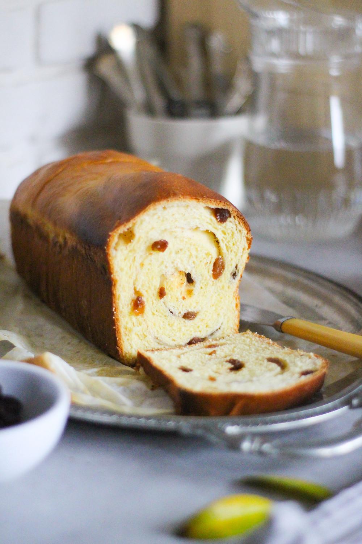 pane all'uvetta raisin bread ricetta