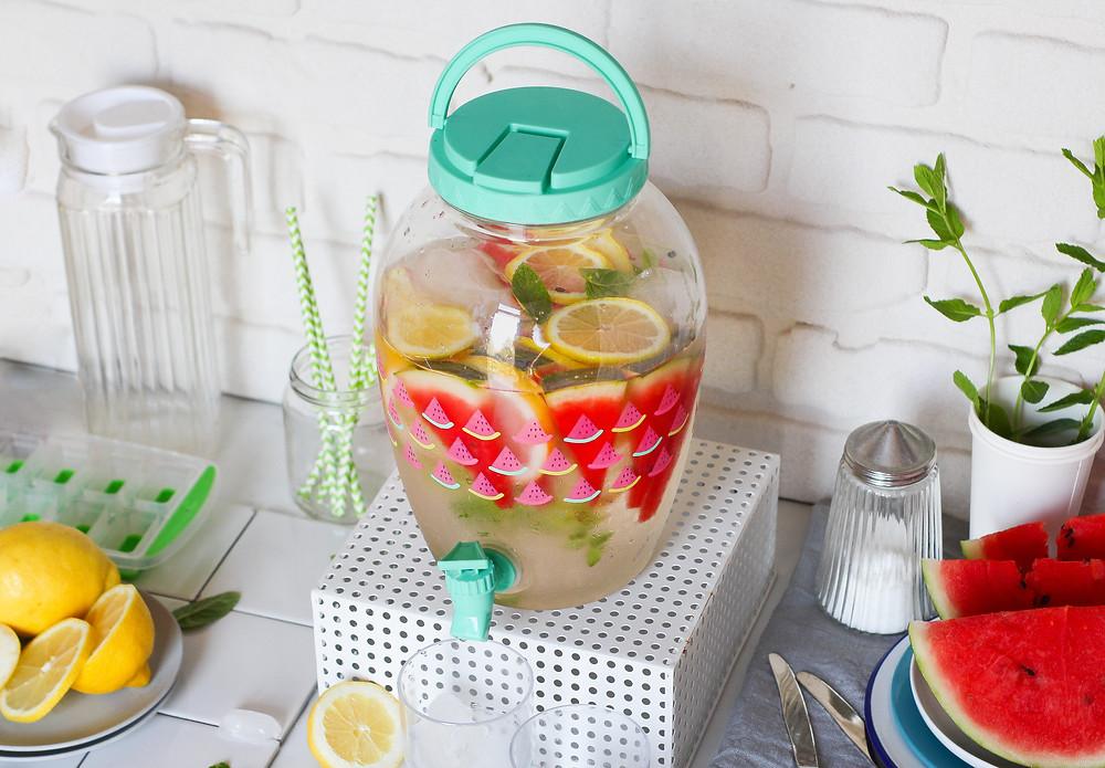 acqua aromatizzata anguria limone zenzero ricetta brunch