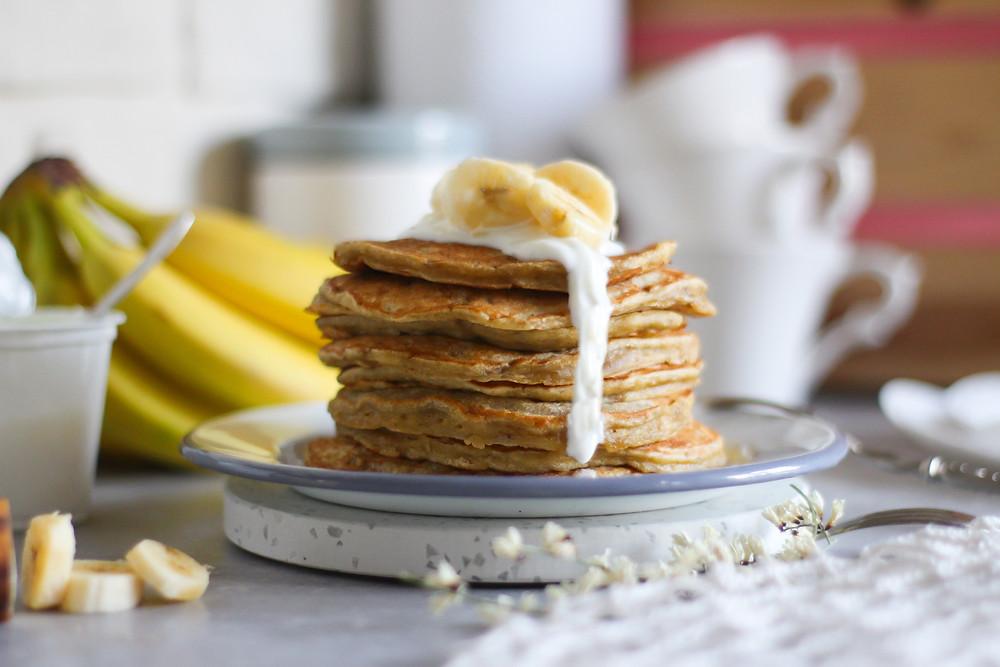 banana pancake ricetta recipe facile