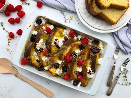 Teglia di french toast al forno: la ricetta facilissima
