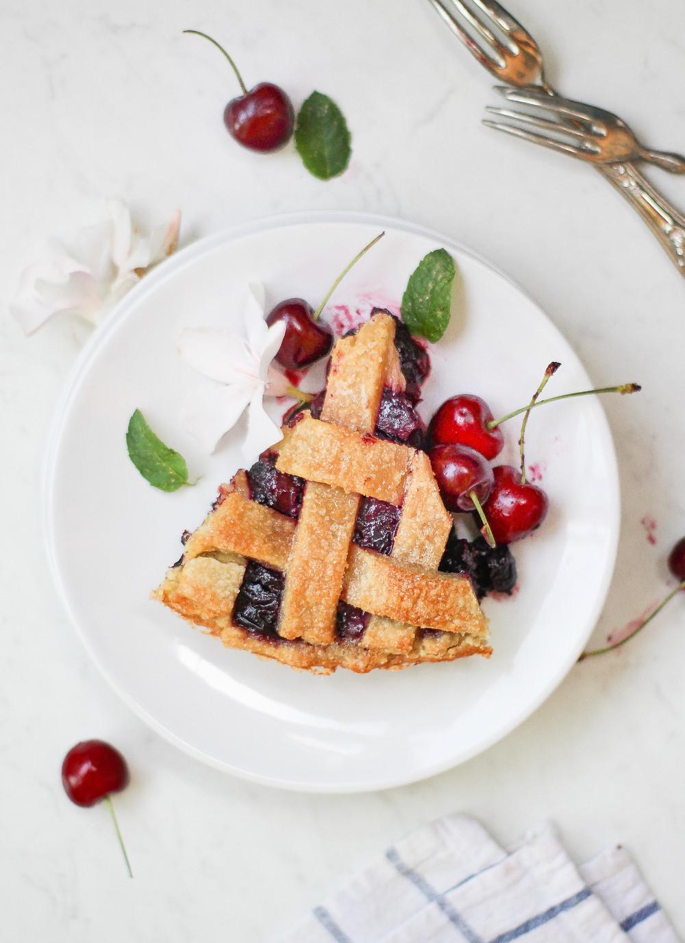 cherry pie ricetta crostata ciliegie