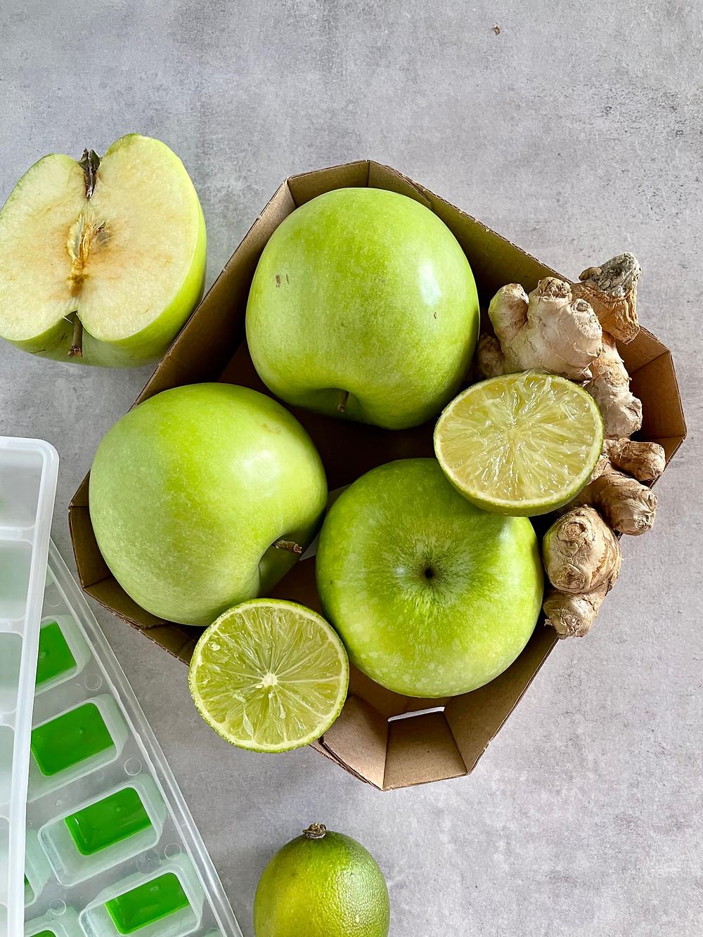 mela verde lime