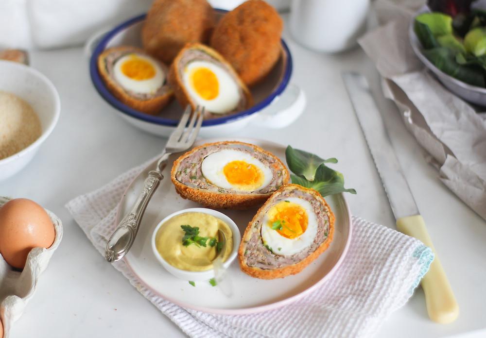 ricetta uova scozzesi brunch