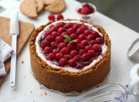 New York Cheesecake: la ricetta classica ai lamponi