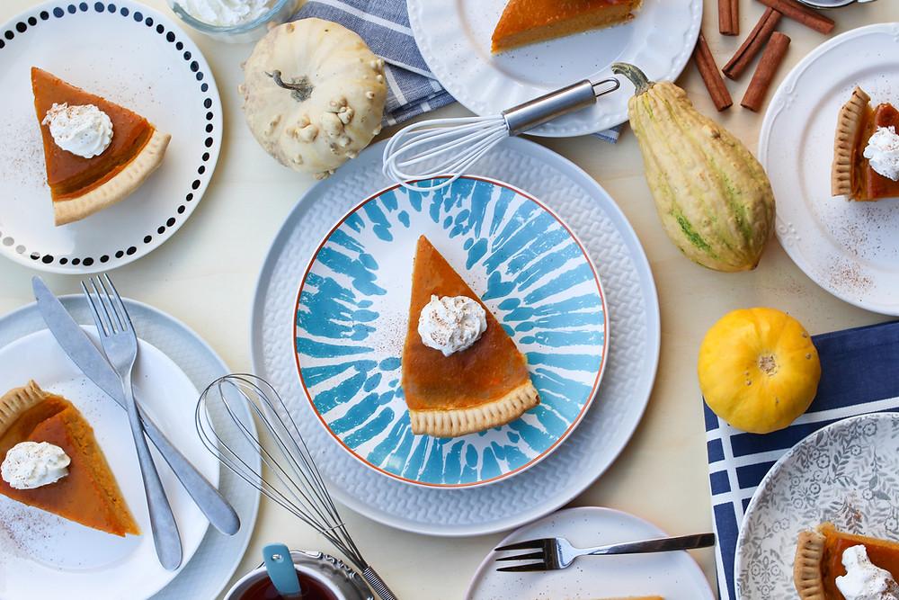 pumpkin pie americana ricetta classica