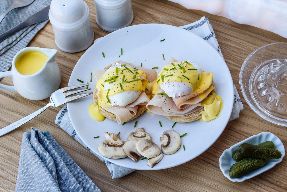 eggs benedict ricetta americana uova benedette brunch buon brunch