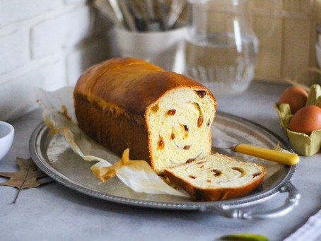 Raisin bread: la ricetta facile del pane all'uvetta