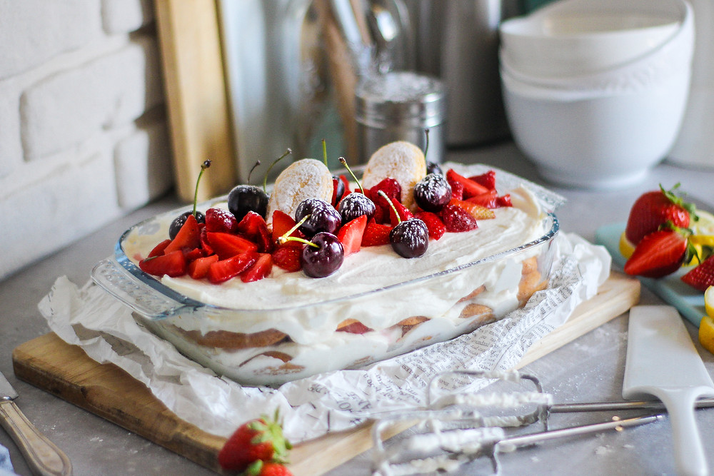 tiramisu alle fragole e mascarpone ricetta facile treviso
