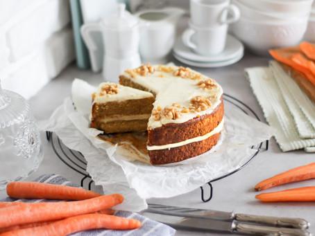 Carrot cake americana: la ricetta facile e classica