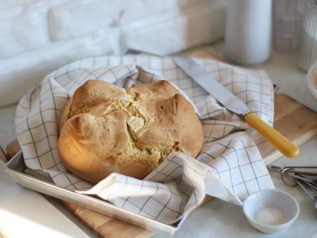 Soda bread: la ricetta facile del pane senza lievito