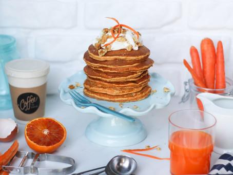 Pancake di carote: la ricetta facile e veloce