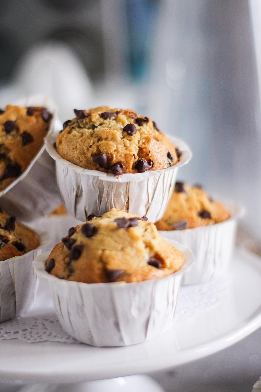 ricetta dei muffin con gocce di cioccolato