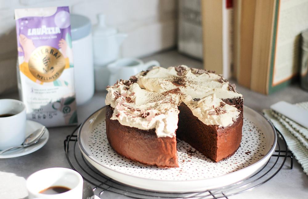 torta caffè cioccolato ricetta lavazza