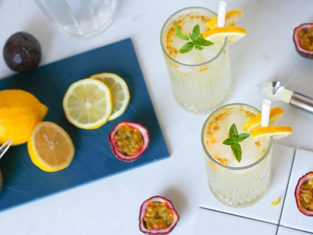Limonata al frutto della passione: il cocktail (analcolico) per un brunch di mezza estate