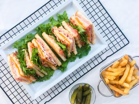 Come preparare il vero club sandwich americano