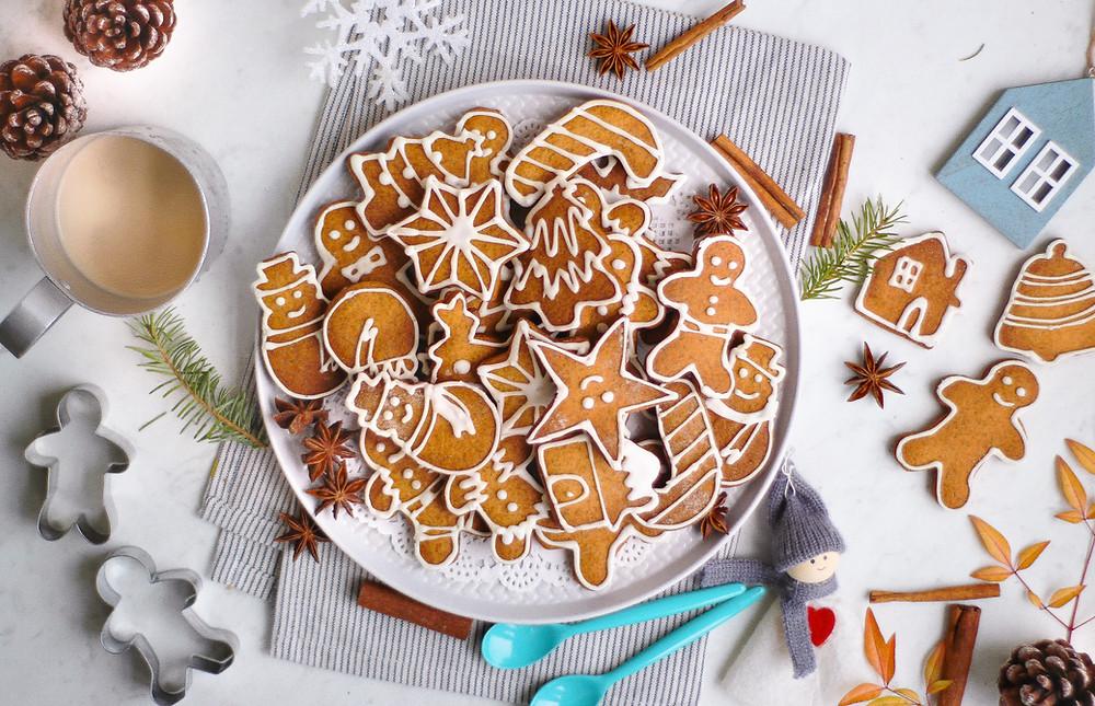 omini pan di zenzero ricetta originale gingerbread cookies