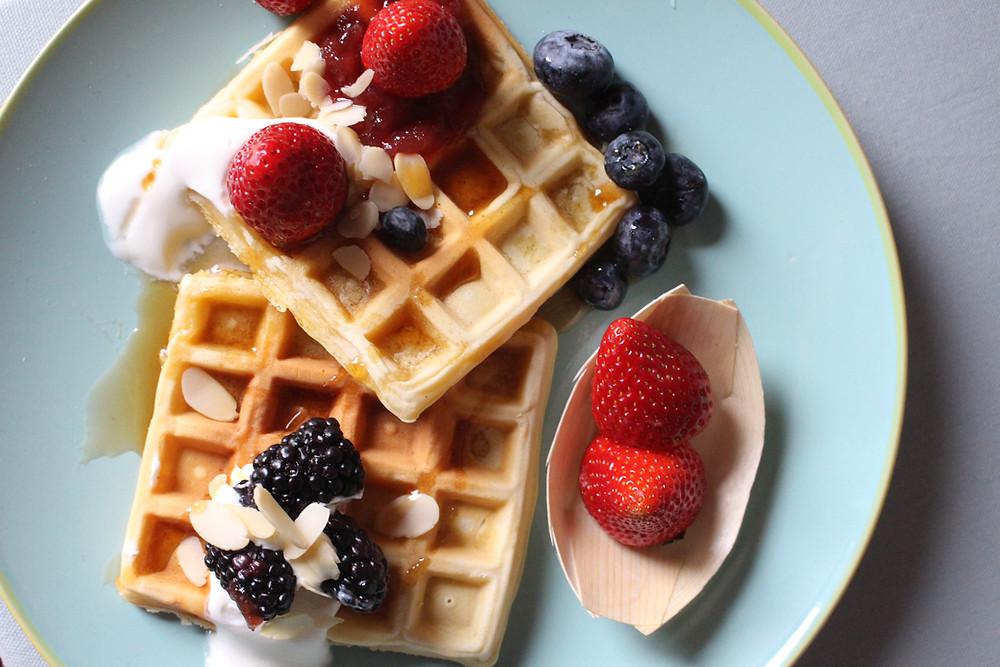 waffle ricetta classica Bruxelles