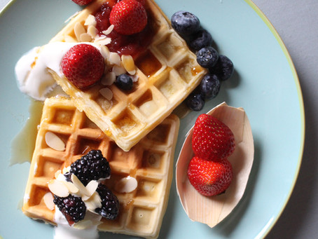 Come fare i waffle in casa: la ricetta classica