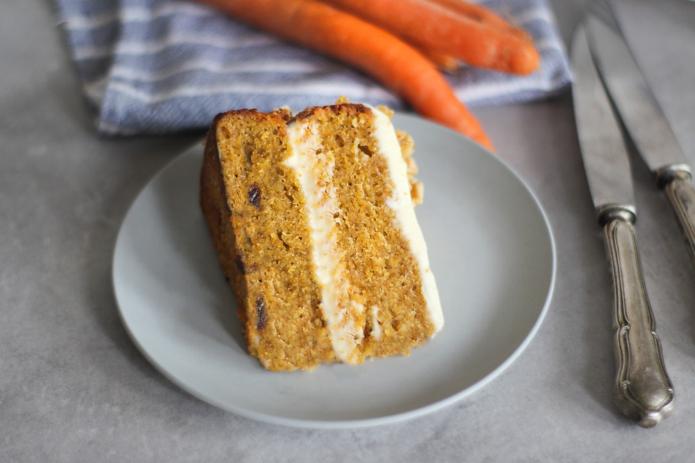 carrot cake ricetta originale inglese light