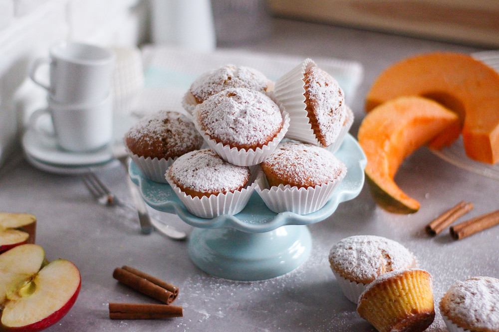 muffin alle mele e zucca ricetta