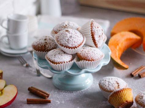 Muffin zucca e mela: la ricetta facile (in 5 mosse!)