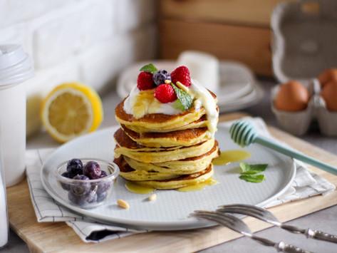Pancake ricotta e limone: la ricetta facile e veloce