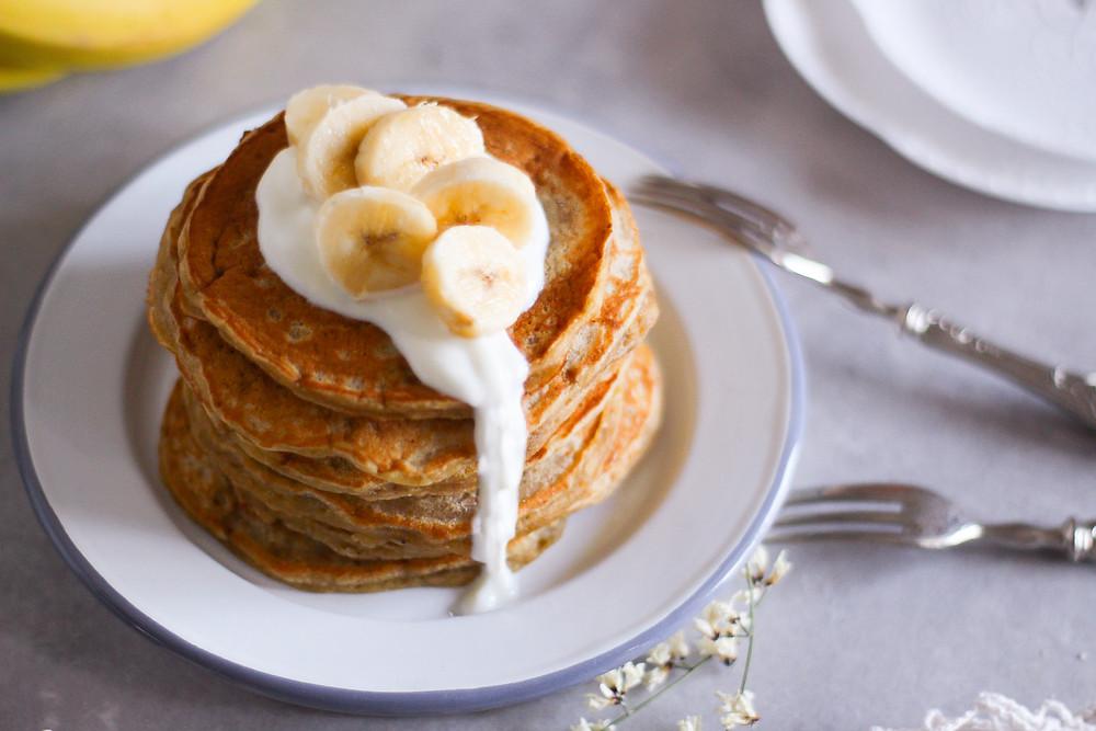 pancake alle banane ricetta veloce con uova