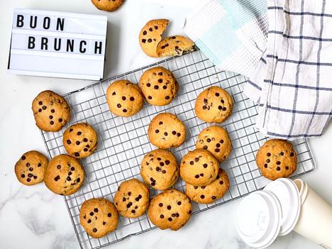 Cookies americani fatti in casa: la ricetta facilissima