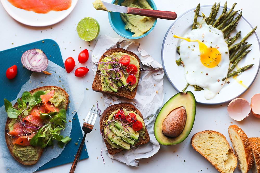 avocado toast ricetta brunch facile buonbrunch