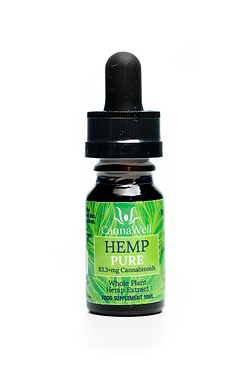Cannawell Hemp Pure Oil (1%)