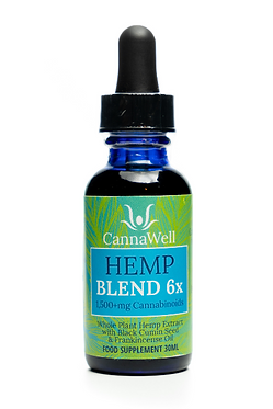 Cannawell Hemp Blend Oil 6x (5%)