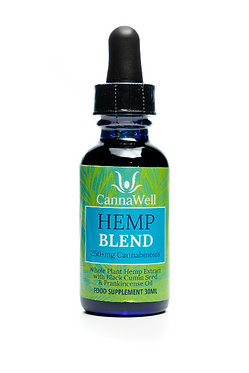 Cannawell Hemp Blend Oil (1%)