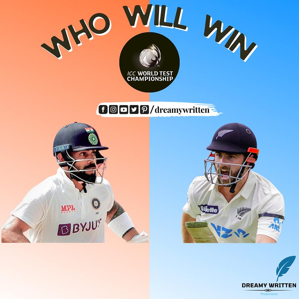 India vs New Zealand WTC'21 final